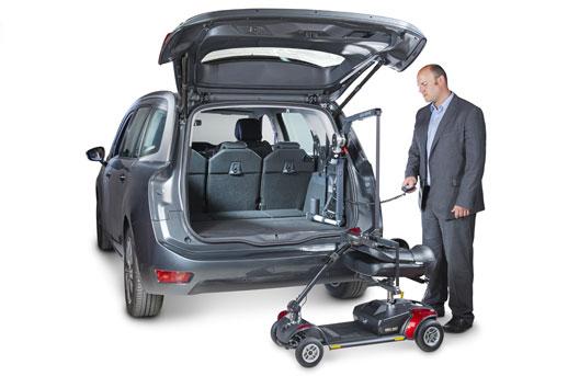 Autochair Mini Hoist Scooter And Wheelchair Lift