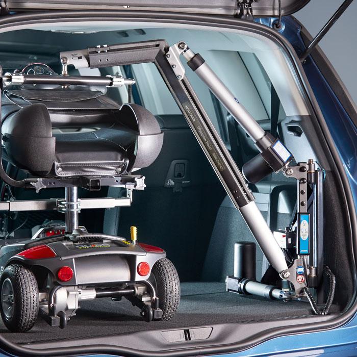 olympian wheelchair and scooter hoist 80kg 100kg 200kg. Black Bedroom Furniture Sets. Home Design Ideas
