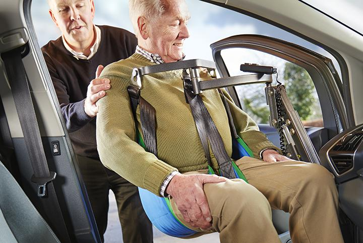 Smart Transfer Person Lifts & Hoists for Disabled Car Users
